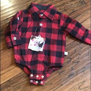 Buffalo Plaid Onesie